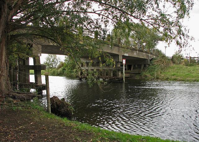 Sutton Gault: under the bridge