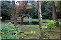NS3964 : Landscaped gardens at Penwold House by Alan Reid