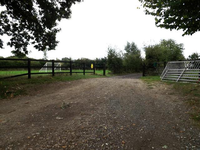 Entrance to Common Farm