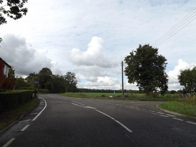 B1134 Station Road, Tivetshall St Margaret