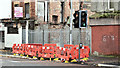 J3574 : EWAY works, Albertbridge Road, Belfast - October 2016(2) by Albert Bridge