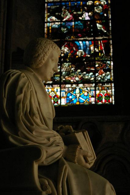 Monument to Bishop van Mildert, Durham Cathedral