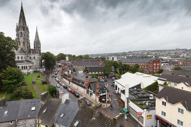 View from Elizabeth Fort, Cork