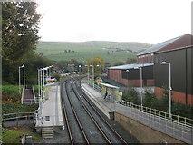 SD9311 : Newhey Metrolink station by John Slater