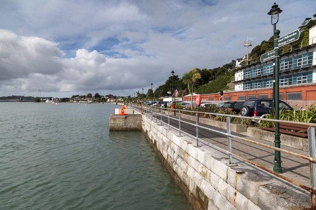 Quayside walk, Cobh