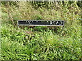TM1094 : Wymondham Road sign by Adrian Cable