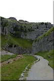 SD9163 : Towards Gordale Scar by DS Pugh