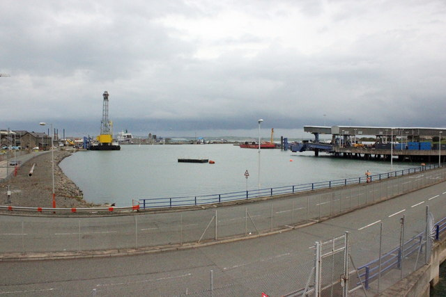 The Old Harbour at Holyhead