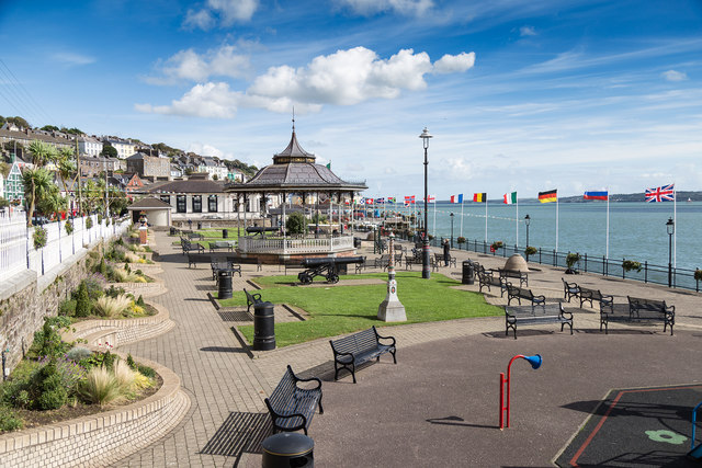 Bandstand in the park, Cobh