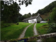 NY3404 : Cottage near Loughrigg Tarn by Les Hull