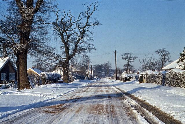 New Road, Hethersett 1963