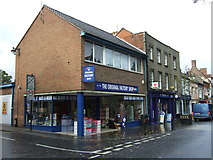 TM3389 : Post Office and shops, Bungay by JThomas