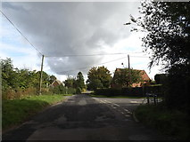 TM1093 : Mill Road. Carleton Rode by Adrian Cable