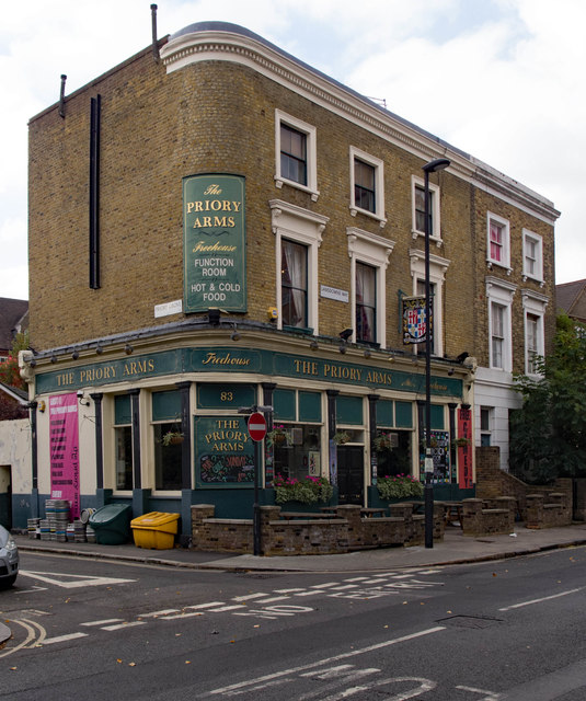 """""""The Priory Arms"""" public house, South Lambeth"""