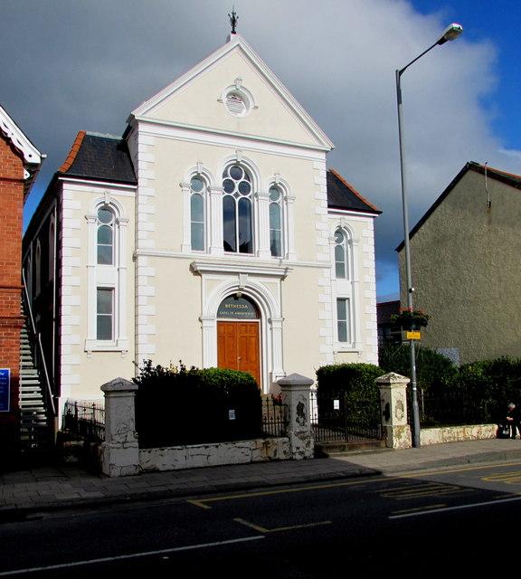 Former Bethesda chapel in High Street, Tywyn