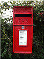 TM0893 : Woodhall Farm Postbox by Adrian Cable