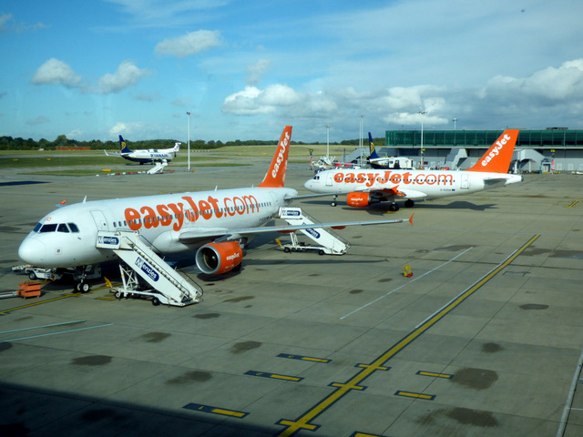 Airside at Stansted Airport