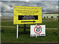 TM0793 : Touchdown Engineering Ltd sign by Adrian Cable