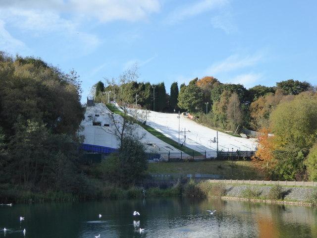 Kidsgrove Ski Centre dry ski slopes