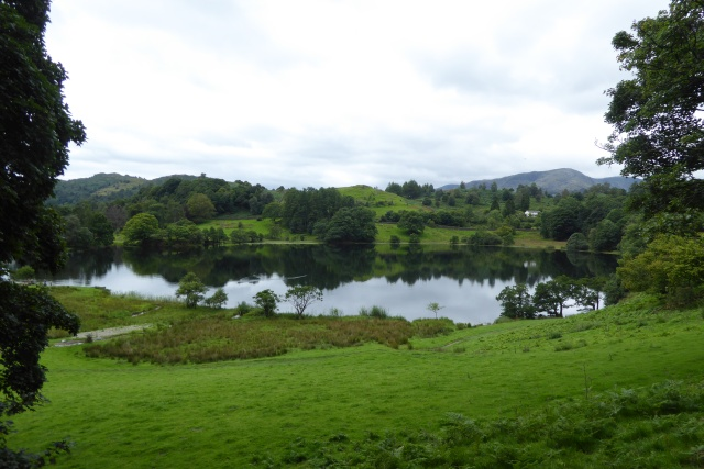Loughrigg Tarn and Little Loughrigg