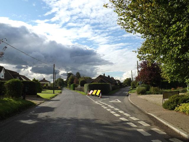 Hargham Road, Old Buckenham