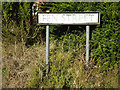 TM0591 : Fen Street sign by Adrian Cable