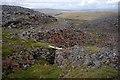 NY7135 : Old mine workings near Black Gut by Ian Taylor