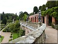 SJ2106 : The mid level terrace, Powis Castle by Derek Voller