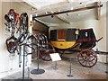 SJ2106 : Horse drawn coach and associated harness etc. Powis castle by Derek Voller