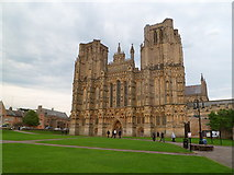 ST5545 : Wells Cathedral by Meirion