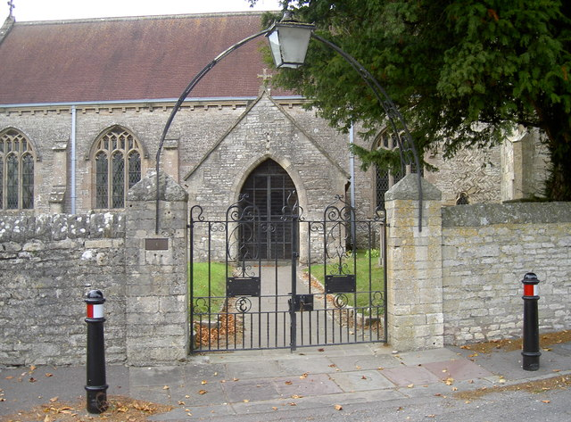 Gates to Holy Trinity