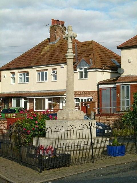 War memorial, Harby