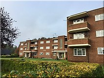 SJ9223 : Stafford: Corporation Street flats - Windermere House by Jonathan Hutchins
