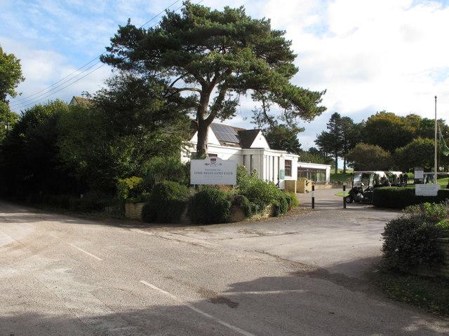 Club house, Lyme Regis Golf Club