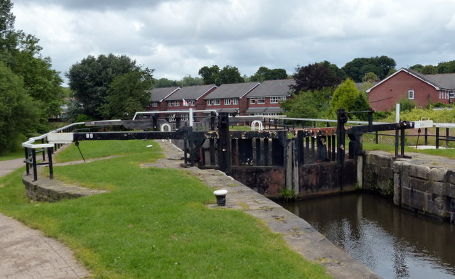Ell Meadow Lock No 89 on the Leeds and Liverpool Canal