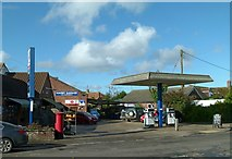 SK7431 : Proud Purveyors of Petrol, Pizza, Pumpkins and Postal services by Alan Murray-Rust