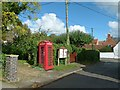 SK7634 : Post Office Lane, Plungar by Alan Murray-Rust