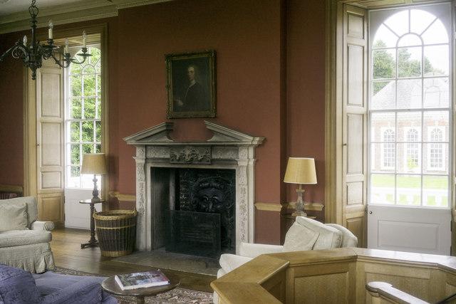 The Library, Stevenstone, Interior