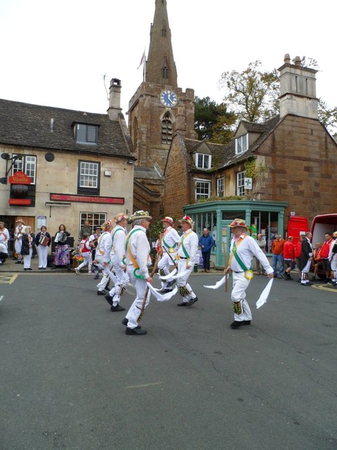 Morris Dancers in Uppingham Market Place