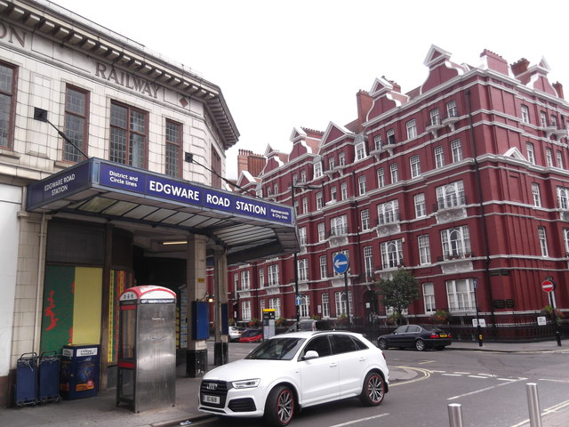Edgware Road Underground Station, Cabbell Street NW1