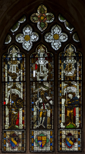 Window n.VI, St Michael and All Angels, Heydour