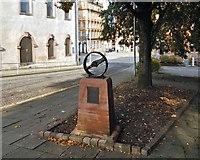NS2776 : Radical War memorial sculpture by Lairich Rig