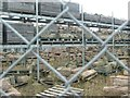 NJ9948 : North East Scotland Preservation Trust storage yard by Haworth Hodgkinson