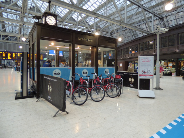 Mobility Point At Glasgow Central 169 Thomas Nugent Cc By