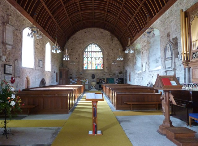 St. Mary's church, Kidwelly, Carmarthenshire
