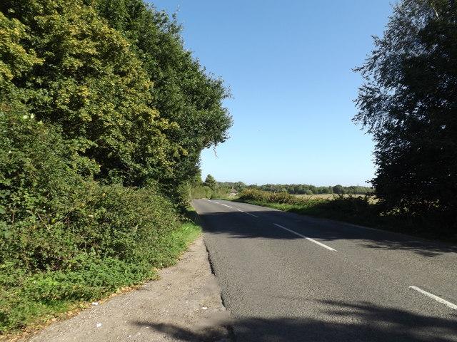 B1145 Dereham Road, Pettywell