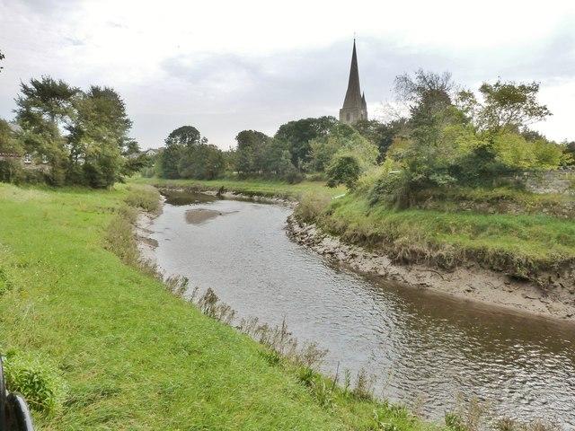 The River Gwendraeth, Kidwelly, Carmarthenshire