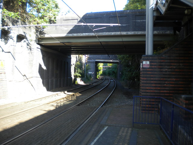 Tramway north west of Bilston Central