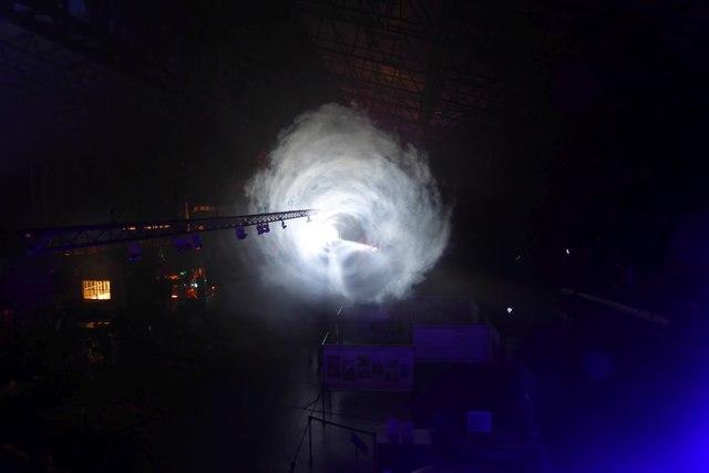 Illuminating York 2016 - Smoke Tunnel