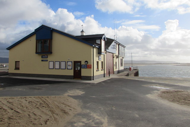 RNLI Aberdovey Lifeboat Station and shop